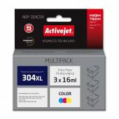 Activejet multipack (zawiera 3szt. tuszów) do HP 304XL N9K07AE new ARP-304CRX